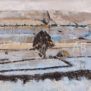 Blue Landscape by Angela Baptie