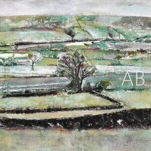Green Landscape by Angela Baptie