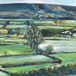 Pendle in Spring by Angela Baptie